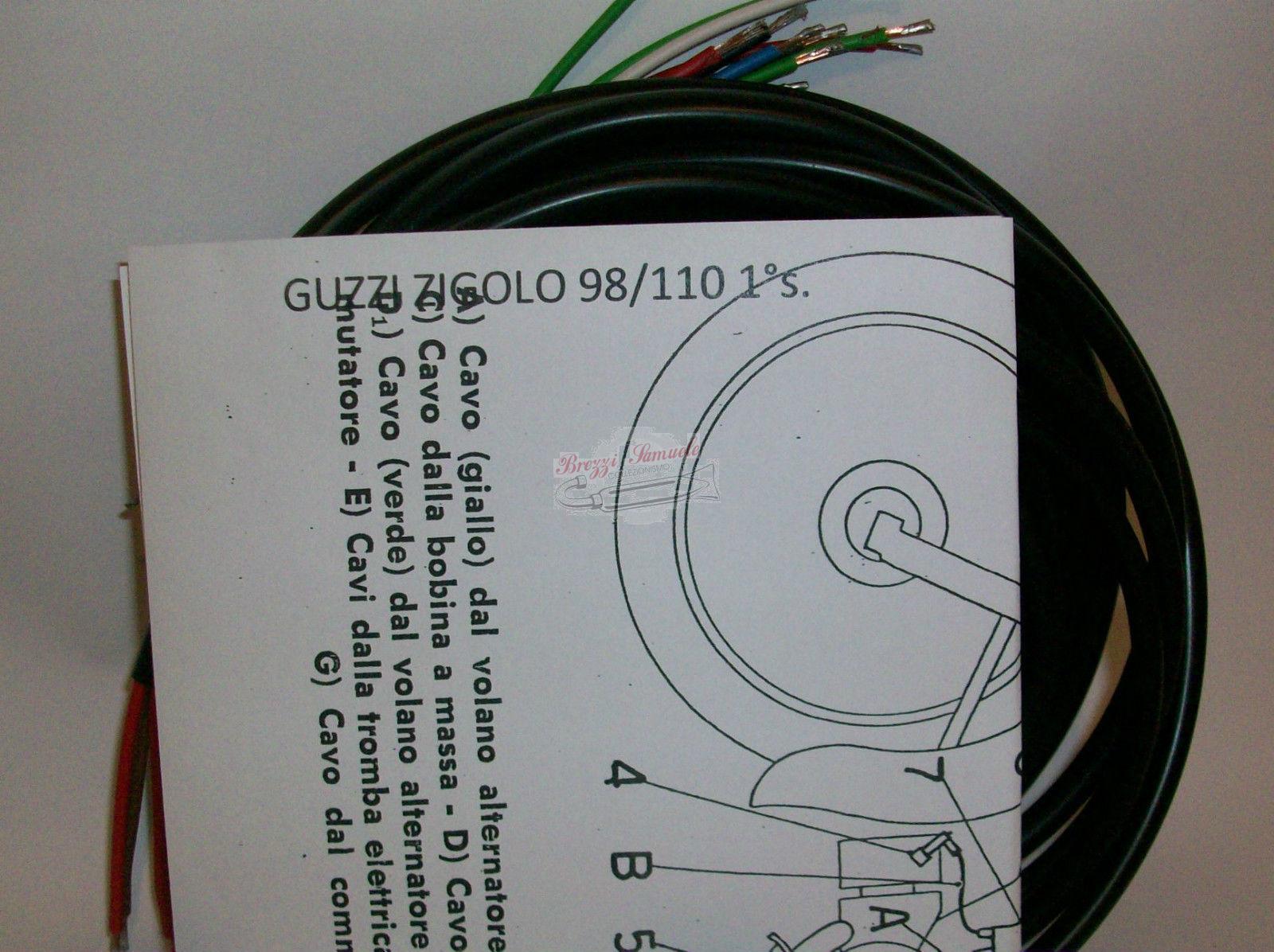 Schemi Elettrici Guzzi : Prodotto im impianto elettrico moto guzzi zigolo