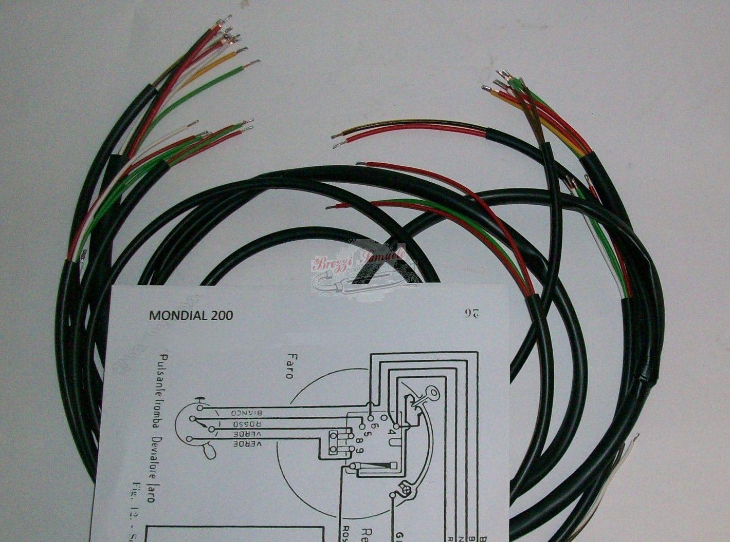 Schema Elettrico Wiring Diagram : Prodotto im impianto elettrico mondial schema